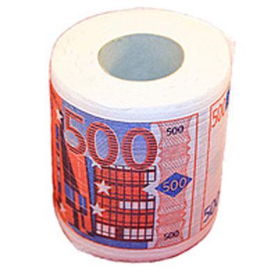 Бумага туалетная Эврика 500 евро .