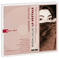 Мария Каллас,Франко Корелли,Энзо Сорделло,Никола Заккариа Maria Callas. Spontini. La Vestale (2 CD) стоимость