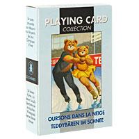 Карты игральные коллекционные Lo Scarabeo Тэдди на льду, 54 карты матрас perrino тэдди 65х125 см