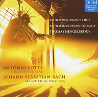 Томас Хенгельброк,Balthasar-Neumann-Ensemble,Balthasar-Neumann-Chor Thomas Hengelbrock. Lotti. Missa Sapientiae / Bach. Magnificat BWV 243a heinrich khunrath amphitheatrvm sapientiae aeternae