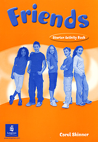 Friends: Starter Activity Book (+ stickers) friends 1 global students book