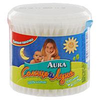 Ватные палочки Aura Солнце и луна, 200 шт ватные палочки и диски солнце и луна солнце и луна 70 шт