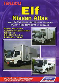 все цены на Isuzu Elf, Nissan Atlas. Isuzu Elf/N-Series 1993-2004 гг. выпуска. Nissan Atlas 1999-2004 гг. выпуска. Устройство, техническое обслуживание и ремонт онлайн