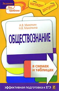 А.В. Махоткин, Н.В. Махоткина Обществознание в схемах и таблицах