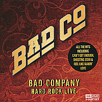Bad Company Bad Company. Hard Rock Live (CD + DVD) цена