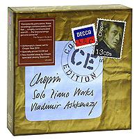 Владимир Ашкенази Vladimir Ashkenazy. Chopin. Solo Piano Works (13 CD) vladimir ashkenazy beethoven the piano concertos 3 cd