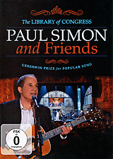 Paul Simon And Friends: Gershwin Prize For Popular Song полочная акустика monitor audio silver 100 black oak