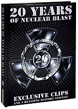 Various Artists: 20 Years Of Nuclear Blast. Digibook Edition (2 DVD) sirenia heavenwood therion tristania lacuna coil amorphis to die for tiamat theatre of tragedy moonspell the kovenant evereve samael virgin black dark nights best in gothic metal