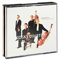 Brodsky Quartet Brodsky Quartet. Shostakovich. The String Quartets (6 CD) zapolski quartet scandinavian classics zapolski quartet dmitri schostakowitch string quartets no 2