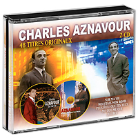 лучшая цена Шарль Азнавур Charles Aznavour. 48 Titres Originaux (2 CD)