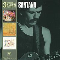 купить Карлос Сантана,Элис Колтрейн Santana. Original Album Classics (3 CD) по цене 1090 рублей