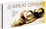 Various: Great Operas - Great Voices (10 DVD) massenet cendrillon 2 dvd