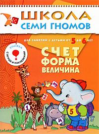 Д. Денисова Счет, форма, величина. Для занятий с детьми от 5 до 6 лет денисова д шсг пятый год счет форма величина