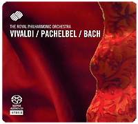 цена The Royal Philharmonic Orchestra,Джонатан Кэрни The Royal Philharmonic Orchestra. Vivaldi / Pachebel / Bach (SACD) онлайн в 2017 году