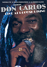Don Carlos: Live At The Reggae Rising silent weapon a street soldier novel