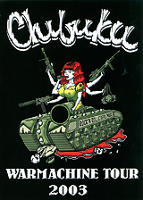 Chibuku: Warmachine Tour 2003 clip in soft wave hair extension 1pc