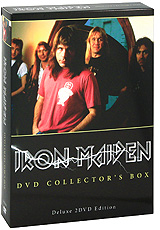 лучшая цена Iron Maiden: DVD Collector's Box (2 DVD)