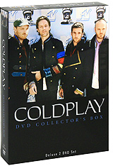 Фото - Coldplay: DVD Collector's Box (2 DVD) dvd