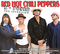The Red Hot Chili Peppers Red Hot Chili Peppers X-Posed: The Interview slw 866 dark red mini finger touch jazz drums music game set red silver 3 x aaa