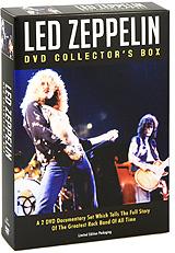 Led Zeppelin: DVD Collector's Box (2 DVD) цена 2017