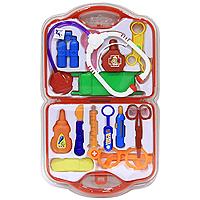 Игровой набор Чемоданчик Доктора, 15 предметов игровой набор наша игрушка чемоданчик стоматолога 13 предметов