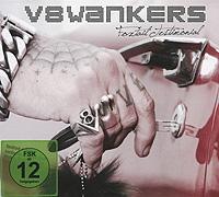 V8 Wankers V8 Wankers. Foxtail Testimonial (CD + DVD) u d o mastercutor alive 2 dvd