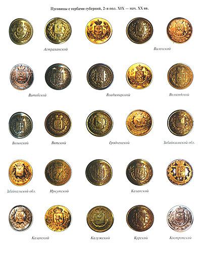 Русские форменные пуговицы 1797-1917. А. Ю. Низовский