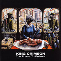 King Crimson King Crimson. The Power To Believe рубашка brubeck nilit heat crimson xl женская