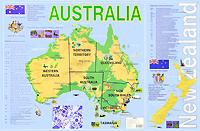 Книга Australia. Карта