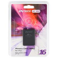 Карта памяти для PlayStation 2 DVTech AC 202 16 Мб playstation store пополнение бумажника карта оплаты 2500 рублей