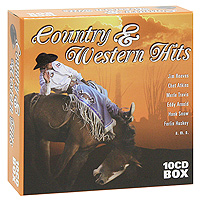 Джим Ривз,Чет Эткинс,Мерл Трэвис,Эдди Арнольд,Хэнк Сноу Country & Western Hits (10 CD) цена и фото