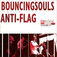 Bouncing Souls Bouncing Souls, Anti-Flag. BYO Split Series. Volume 4 (LP) anti flag anti flag american fall colour