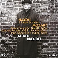 Альфред Брендель Alfred Brendel. Haydn. 4 Piano Sonatas / Mozart. Piano Concerto No. 20, K466, etc. (2 CD) alfred brendel the farewell concerts 2 cd
