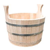 Шайка сборная двуручная(липа) 10л дровяные печи для бани aito