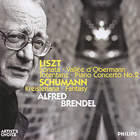 Альфред Брендель,The London Philharmonic Orchestra Alfred Brendel. Liszt / Schumann (2 CD)
