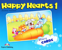 Jenny Dooley, Virginia Evans Happy Hearts 1: Story Cards dooley j evans v happy hearts starter story cards сюжетные картинки к учебнику