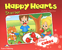 Jenny Dooley, Virginia Evans Happy Hearts: Starter: Story Cards dooley j evans v happy hearts starter story cards сюжетные картинки к учебнику