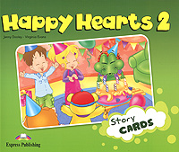 Jenny Dooley, Virginia Evans Happy Hearts 2: Story Cards dooley j evans v happy hearts starter story cards сюжетные картинки к учебнику