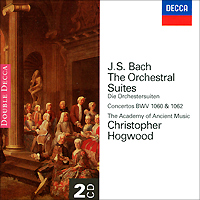 Кристофер Хогвуд,The Academy Of Ancient Music,Кристоф Руссет,Лиза Безносюк Christopher Hogwood. Bach. The Orchestral Suites (2 CD) цены онлайн