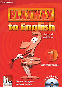 Playway to English 1: Activity Book (+ CD-ROM) learning stars pupil s book level 1 cd rom