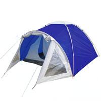 """Палатка Columbus """"Cambridge Pro"""" двухслойная, двухместная, цвет: синий"""