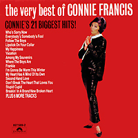 Конни Фрэнсис Connie Francis. The Very Best Of Connie Francis connie brockway hot dish