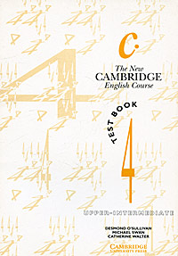 The New Cambridge English Course 4: Test book cornwell b fallen angels