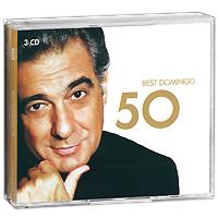 Пласидо Доминго Placido Domingo. Best Domingo 50 (3 CD) цена и фото