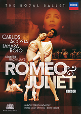 Prokofiev: Romeo & Juliet the royal ballet covent garden romeo