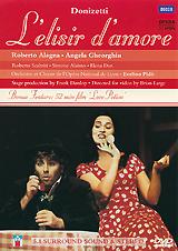 Donizetti - L'Elisir D'Amore trendy round neck long sleeve love potion jacquard women s sweater
