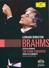 Johannes Brahms, Leonard Bernstein: The Piano Concertos john damgaard tutter givskov harro ruisenaars scandinavian classics johannes brahms antonin dvorak trios for piano violin and violoncello