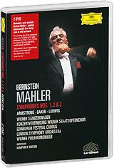 лучшая цена Mahler, Leonard Bernstein: Symphonies Nos. 1, 2 & 3 (2 DVD)
