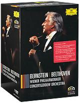 Beethoven, Leonard Bernstein: Wiener Philharmoniker - Concert Gebouw Orchestra (7 DVD) недорго, оригинальная цена