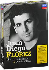 Juan Diego Florez: Donizetti - La Fille Du Regiment / Don Pasquale (3 DVD) гардемарины 3 dvd